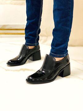 Imagen de Zapato Monroe Negro Charol