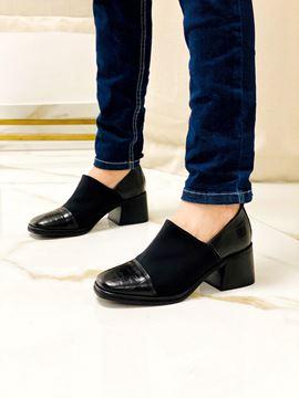 Imagen de Zapato Berlin Negro Croco