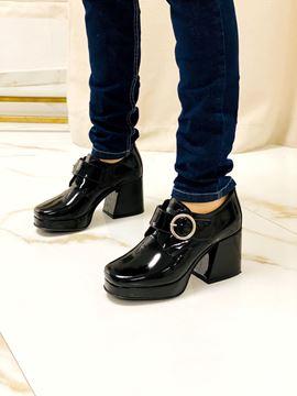 Imagen de Zapato Gauss Negro Charol