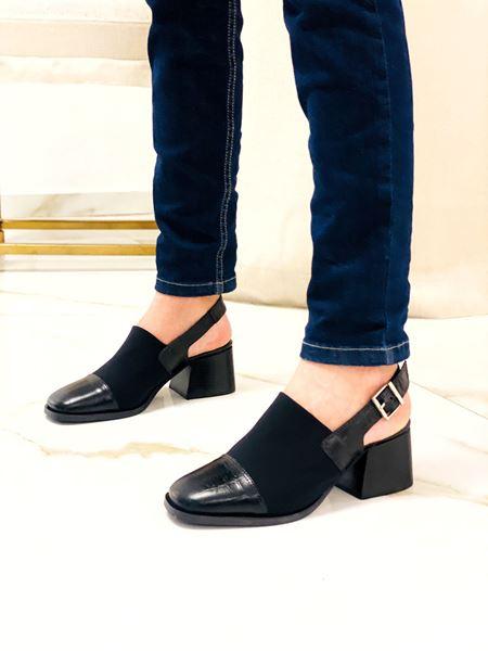 Imagen de Zapato Dakota Negro Croco