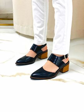 Imagen de Zapato Sophie Negro Croco