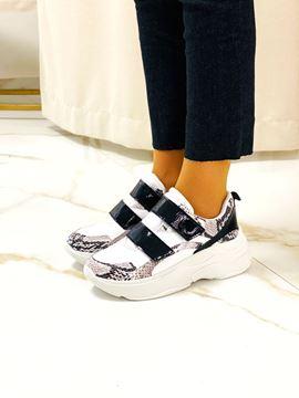 Imagen de Sneaker Pacino Blanco y Negro