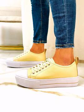 Imagen de Sneaker Warhol Amarillo Pastel