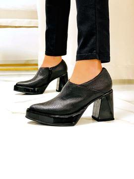 Imagen de Zapato Picasso Negro Trenzado