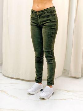 Imagen de Pantalon Pana Verde