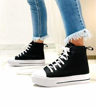 Imagen de Sneaker Leaf Negro