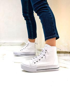 Imagen de Sneaker Leaf Blanco