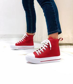 Imagen de Sneaker Leaf Rojo